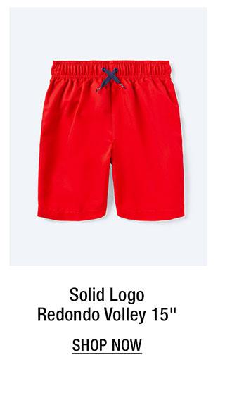 """Solid Logo Redondo Volley 15"""""""